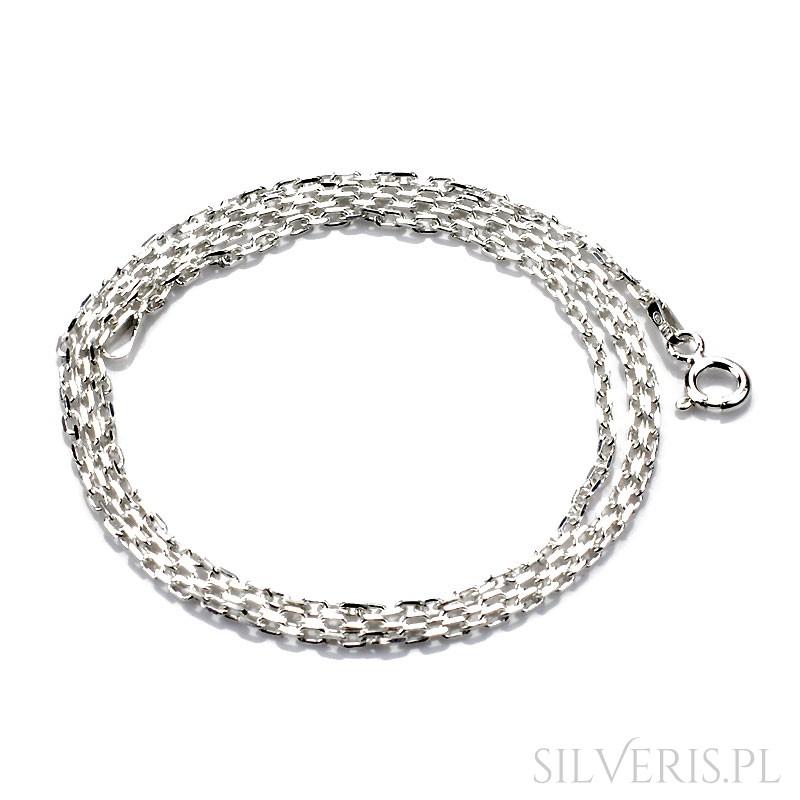 3fd46a2cb60f5d Łańcuszek srebrny Anker Diamentowany Silveris.pl