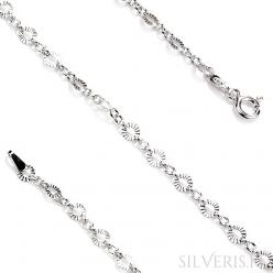 Łańcuszek srebrny Cobb