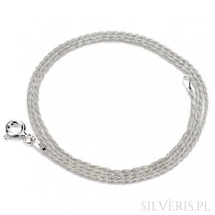 Łańcuszek srebrny Liana