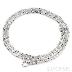 Łańcuszek srebrny Margherita