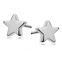 Kolczyki srebrne gwiazdki