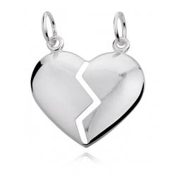 Zawieszka srebrna serce do...
