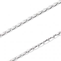Łańcuszek srebrny Long