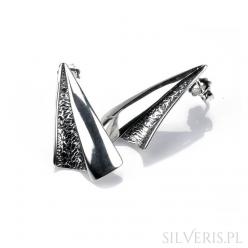 Kolczyki srebrne żagle
