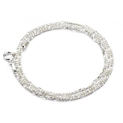 Łańcuszek srebrny Figaro