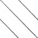 Łańcuszek srebrny Anker Diamentowany 50 cm