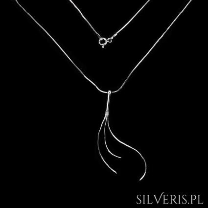 Naszyjnik srebrny Linki