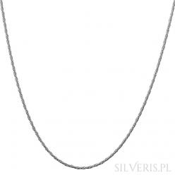 Łańcuszek srebrny Lisi Ogon Skręcony