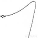 Łańcuszek srebrny splot Lisi Ogon