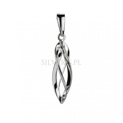 Zawieszka srebrna Spiral