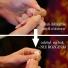 Kolczyki srebrne koła 60 mm zapinanie