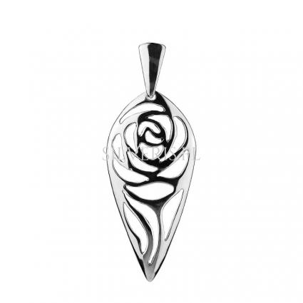 Zawieszka srebrna Róża