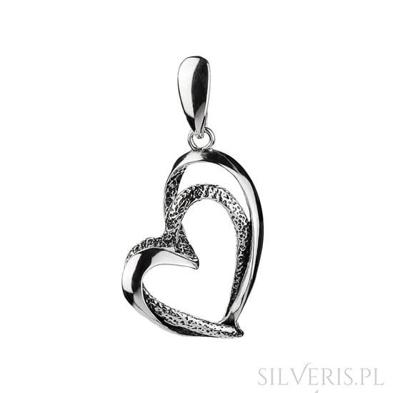 Zawieszka srebrna Serce dla Mamy