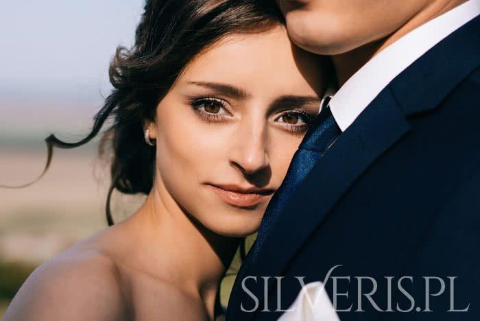 Srebrna biżuteria do ślubu