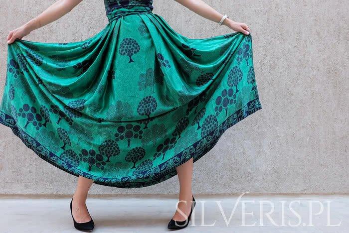 biżuteria do zielonej sukienki