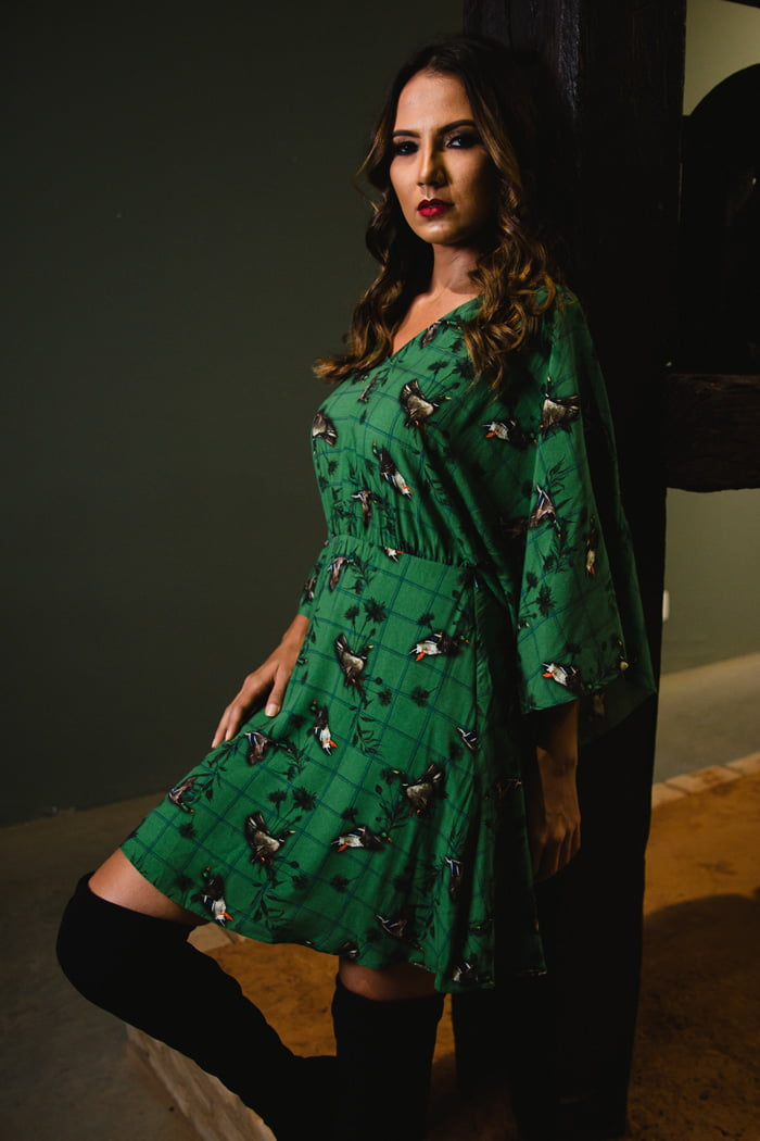 biżuteria do zielonej sukienki na co dzień