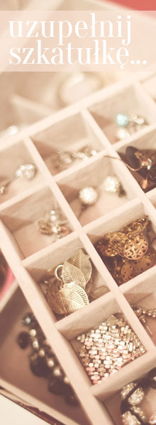 uzupełnij kuferek z biżuterią