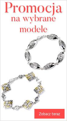 promocja na bransoletki srebrne