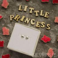 biżuteria dla dziewczynki srebrna